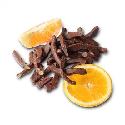 Апельсиновые корочки в тёмном шоколаде