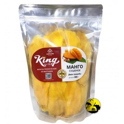 Манго натуральное King Nafoods сушёно-вяленое